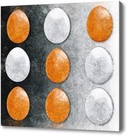 Картина Крестики - нолики или яйца и яйца..