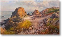 Картина Прибрежный пейзаж