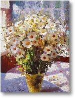 Картина Ромашки на веранде