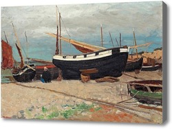 Картина Прибрежная сцена из севера Франции