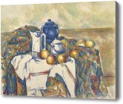 Картина Натюрморт с голубым чайником