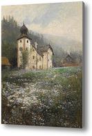 Картина Церковь на холме