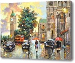 Картина Вечерний Лондон