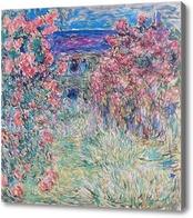 Картина Дом среди роз