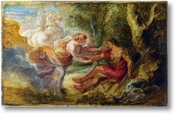 Картина Аврора похищает Цефалуса