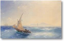 Картина От острова Искья 1894
