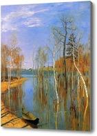Картина Лодка на воде