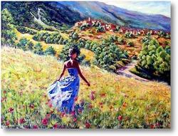 Картина Прогулка в окрестностях Санкт Эуфемия -а- Маелла