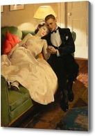 Картина Романтическая интерлюдия, Чемберс Чарльз