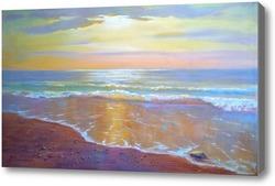 Купить картину янтарный берег