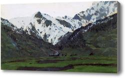 Картина В Альпах весной. 1897