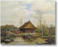 Купить картину Весна. 1875