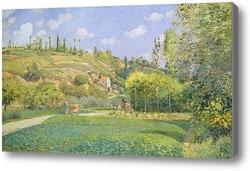 Картина Пастух в Валхермейл, Овер-сюр-Уаз