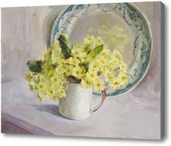 Картина Маргаритки в кухле