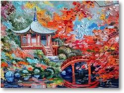 Картина Японский домик