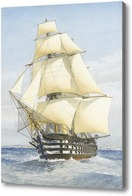 Картина Винт трехпалубный, Митчелл Уильям