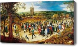 Картина Свадебное шествие