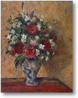 Картина Натюрморт с пионами и жасмином