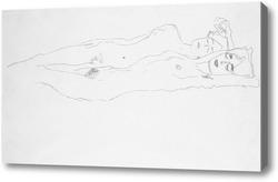 Картина Две отдыхающие женщины