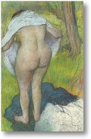Картина Женщина сушится
