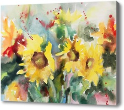 Картина Осенние цветы