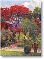 Купить картину Сад Гонолулу
