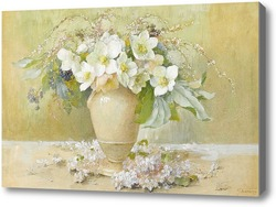 Картина Морозники в керамической вазе
