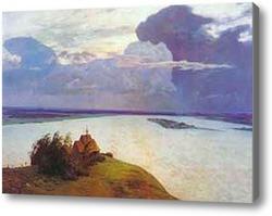 Картина Над вечным покоем, 1894