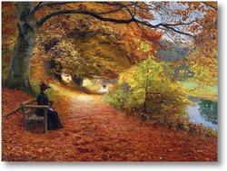 Купить картину Осенний лес