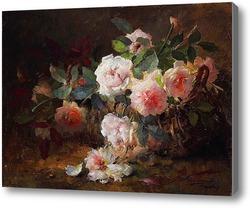 Картина Картина художника 19-20 веков, натюрморт