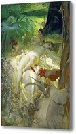 Купить картину Нимфа любви, 1885, Цорн Андерс