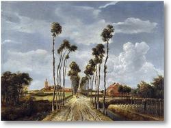 Картина Авеню в Мидделхарнис
