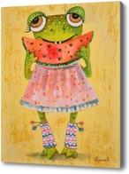 Картина Арбузная лягушка