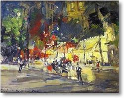 Купить картину Париж ночью