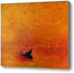 Картина Золотая путина