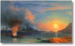 Картина Битва Бомарзунд