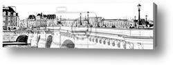 Картина Париж.Новый мост