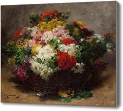 Картина Летние цветы, Жеаннин Джордж