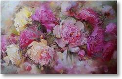 Купить картину Розовые пионы