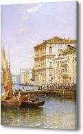 Картина Большой канал, Венеция, Мидоус Артур