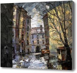 Картина Петроградский дворик