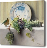 Купить картину Натюрморт с виноградом, Банди Джон Элвуд