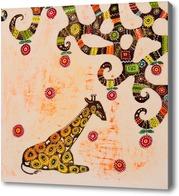 Картина Африканский жираф