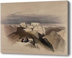 Картина Христианские и мусульманские часовни на горе Синай