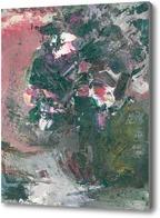 Картина горшок с цветами