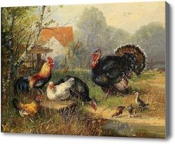Картина Птичий двор