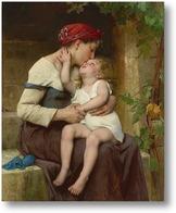 Картина Мать с ребенком