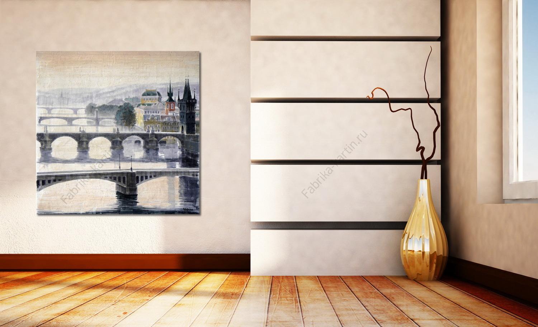 Картина на стену с подсветкой своими руками
