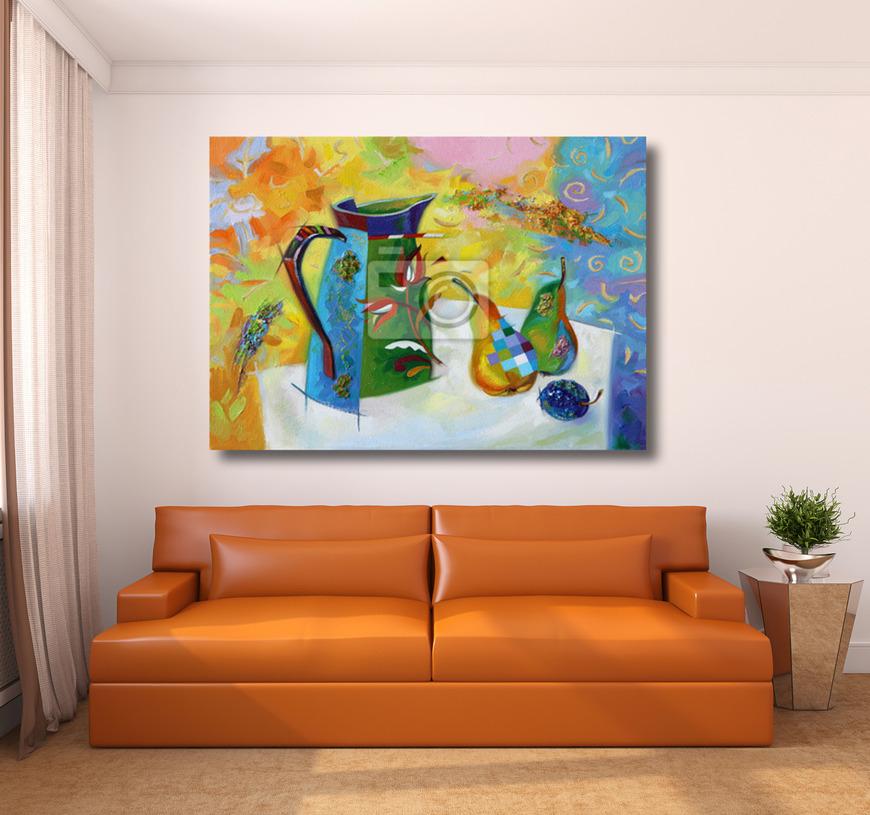 Картина Натюрморт с кувшином