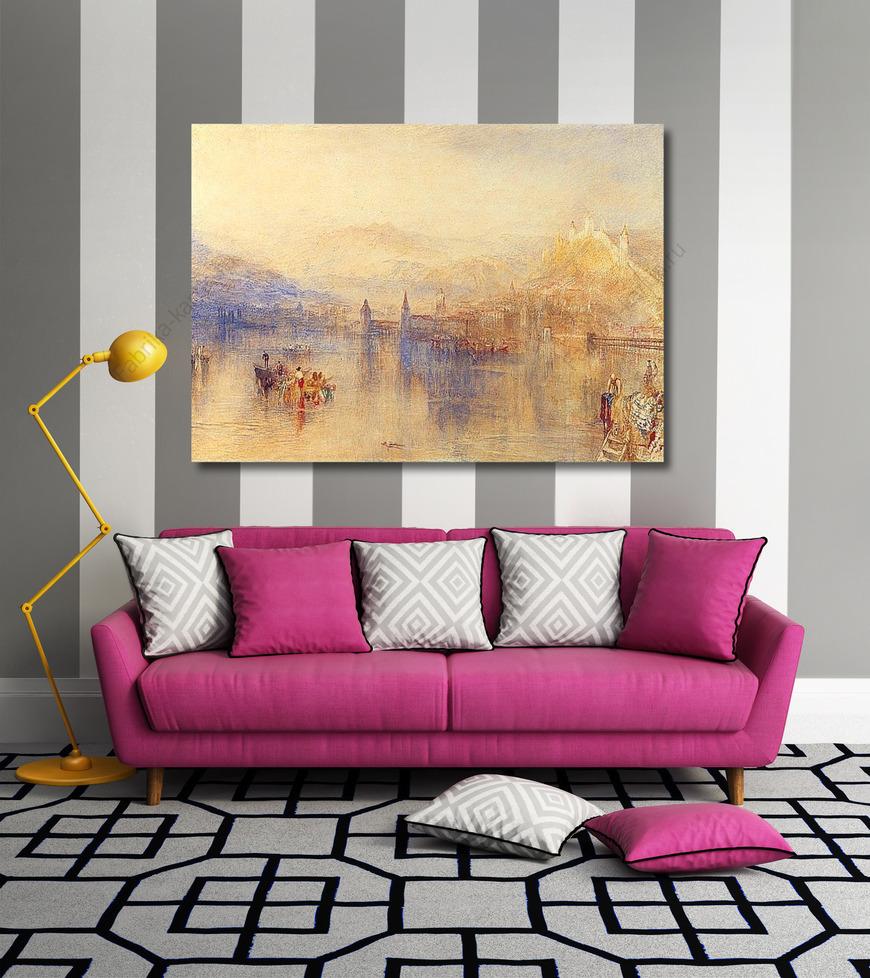 Картина Люцерна из озера